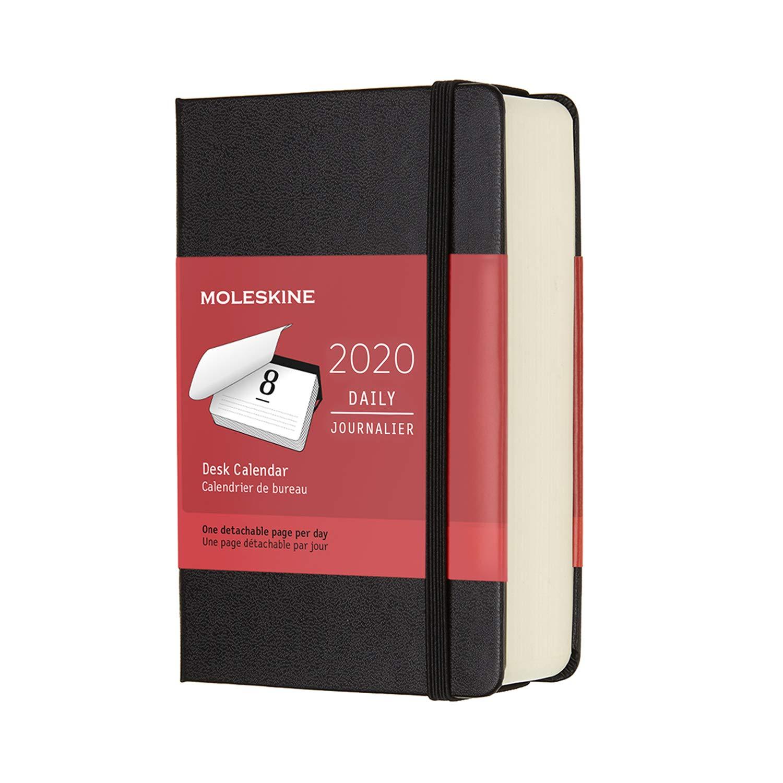 Moleskine 12 Monate Tages-Tischkalender 2020 Pocket/A6, 1 ...