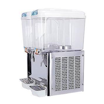kuppet dispensador de zumo comercial dispensador de bebidas frutas hielo bebidas frías té con espiga 1 - Depósito de 3 acero inoxidable restaurante Servicio ...