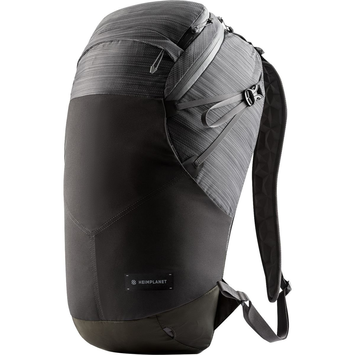 Heimplanetモーション楕円ノートパソコンバックパック B071R3D2KG ダークグレー One Size