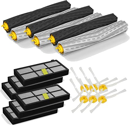 Kit Large Serie 800 cepillos 3 brazos y filtros para iRobot Roomba serie 860 861 862
