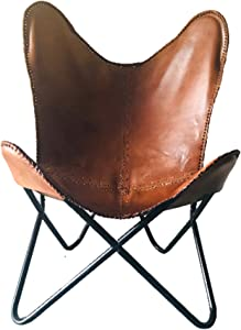 Butterfly Chair, Beautiful Chair, Leather Chair, Unique Chair, Antique Chair, Vintage Chair, Drawing Room Chair, Homemade Chair
