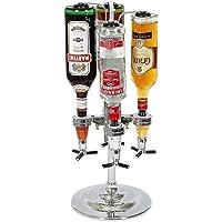 La Chaise Longue 24-CL048 Distributeur de bouteilles pivotant et ses 4 becs verseurs doseurs Chrome