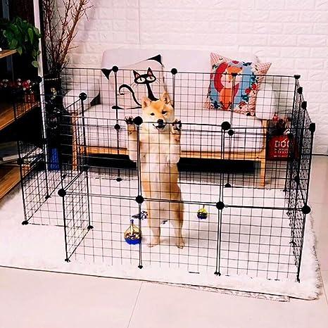 fbartl - Caja Plegable para Mascotas, Perros, Jaula de Juego, Valla para Cachorro