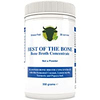 BONE BROTH Premium Beef Bone Broth Concentrate Coconut- 100% Sourced From AU Grass-Fed...