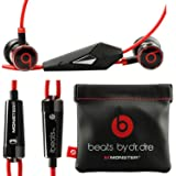 Monster Beats By Dr Dre Ibeats in Ear Headphones Earphones Black - (Supplied with no retail packaging)