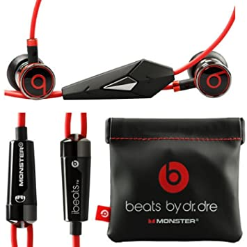 cc6623400a1 Monster Beats by Dr Dre Ibeats in Ear Headphones Earphones Black -  (Supplied with no Retail Packaging): Amazon.ca: Electronics