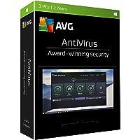 AVG  Antivirus 2017, 3 PCs, 2 Years, key card