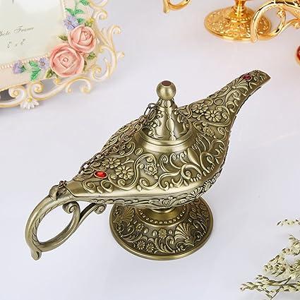 Artesanía Liuhoue Esmalte Mágica VintageLámpara De Aladino vOn0mwN8