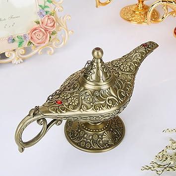 Weiwei Artisanat De L émail Cru Lampe Magique D Aladin