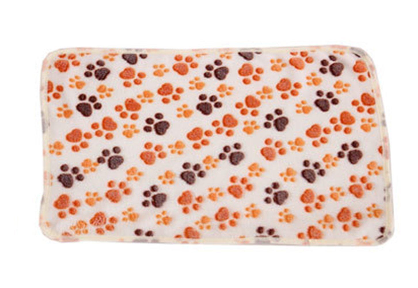 HNBGY Grazioso Coperta dell'animale Domestico dell'animale Domestico del Cane Artiglio del Cane di Warm Dog Warm del Velluto di Corallo di Cat Dog 1PCS