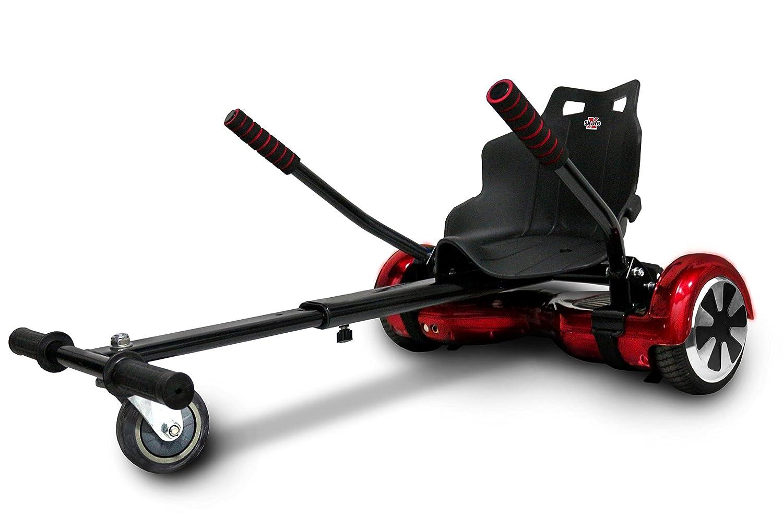 Xskate 6, Kart Compatibile con Balance Scooter da 6.5-8.5-10 Unisex – Adulto, Nero, Taglia Unica 4897040784955