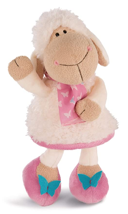NICI Jolly Mäh 32 Peluche Color Blanco, Rosa 42794: Amazon ...