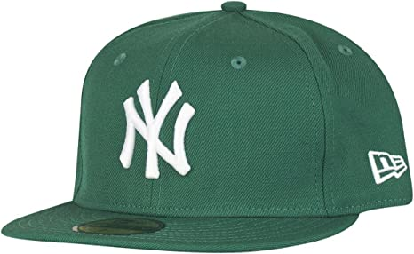 New Era MLB Basic NY Yankees 59 Fifty Fitted - Gorra para hombres ...