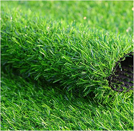 BYCDD Césped Sintético para el jardín, Césped Alfombra Césped Artificial Rollo con Agujeros de Drenaje Hierba Artificial para Perros Mascotas Muchos tamaños,Green_2x4m/6x12ft: Amazon.es: Hogar
