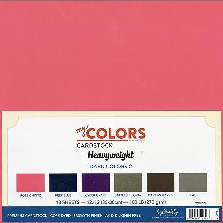 tonalit/à di cartoncino colore: verde acqua in tela 18 pezzi My colori Cartoncino 30 x 30 cm