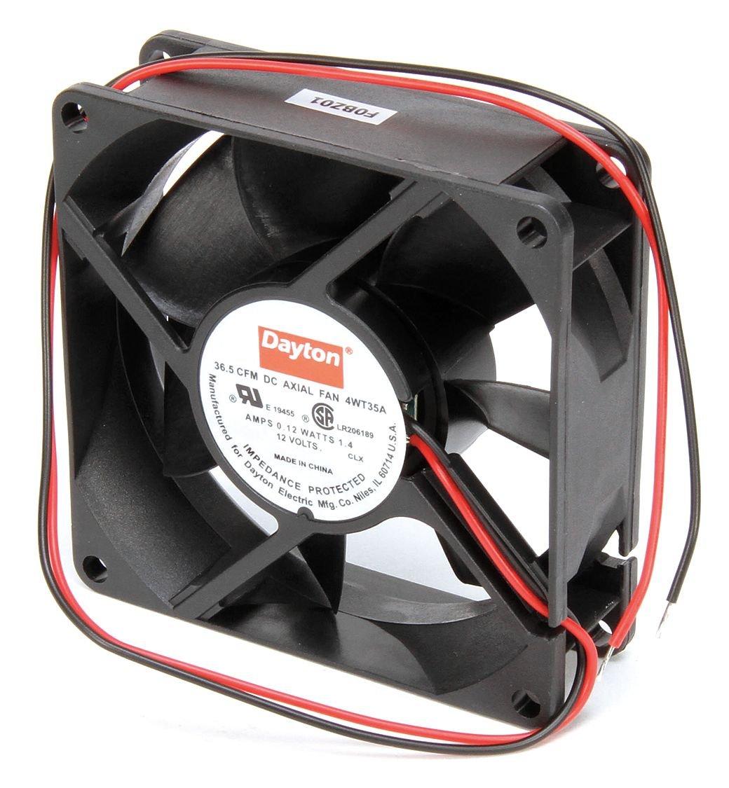 Dayton 4WT35 Fan Axial 12 V 36.5 CFM
