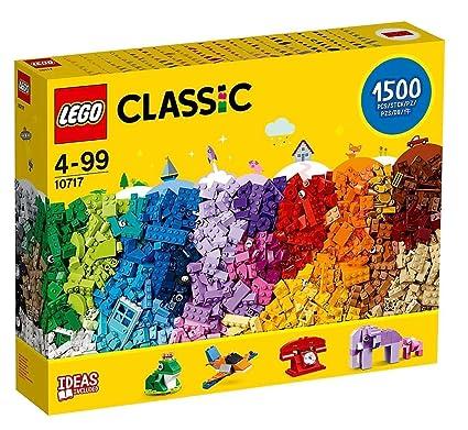 afbd14e48b04 Amazon.com: LEGO Classic 10717 Bricks Bricks Bricks 1500 Piece Set -  Encourages Creativity in all Ages - Ideal for Creators of all Ages - Brick  Separator ...