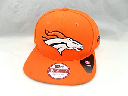 Image Unavailable. Image not available for. Color  New Era Practice Snap  9FIFTY Snapback Hat Denver Broncos NFL d1627c159