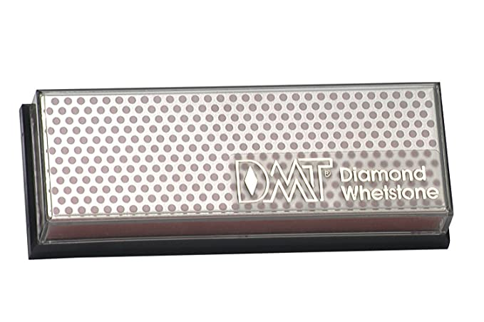 DMT W6CP Afilador de Diamond Whetstone, grueso con caja de plástico (6 pulgadas)