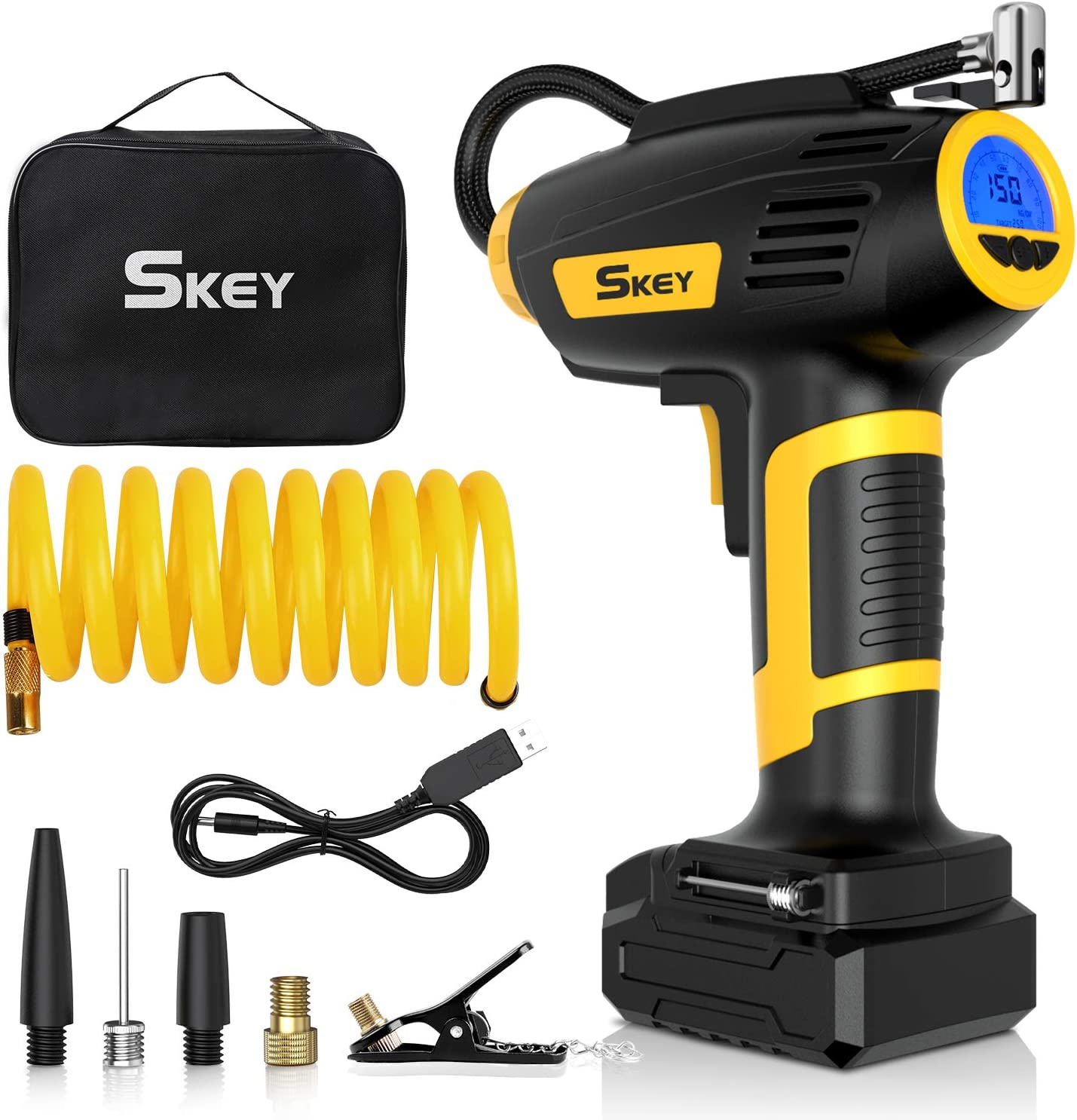 Skey Air Compressor Tire Inflator