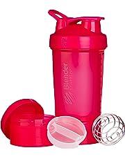 Blender Bottle Prostak  Protéine Shaker / Bouteille d'eau  avec boîtes supplémentaires 100,150 ml + compartiment à pilules