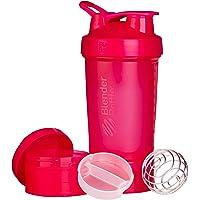 BlenderBottle ProStak Protein Shaker met BlenderBall met 2 containers van 150 ml en 100 ml, 1 pillenvak, optimaal voor…