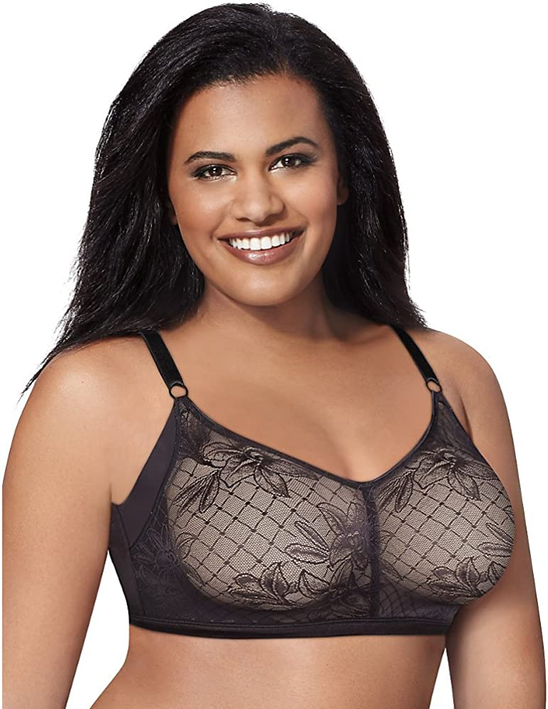 Just My Size Women/'s Plus Undercover Slimming Wirefree Style Number J228-2 PACK