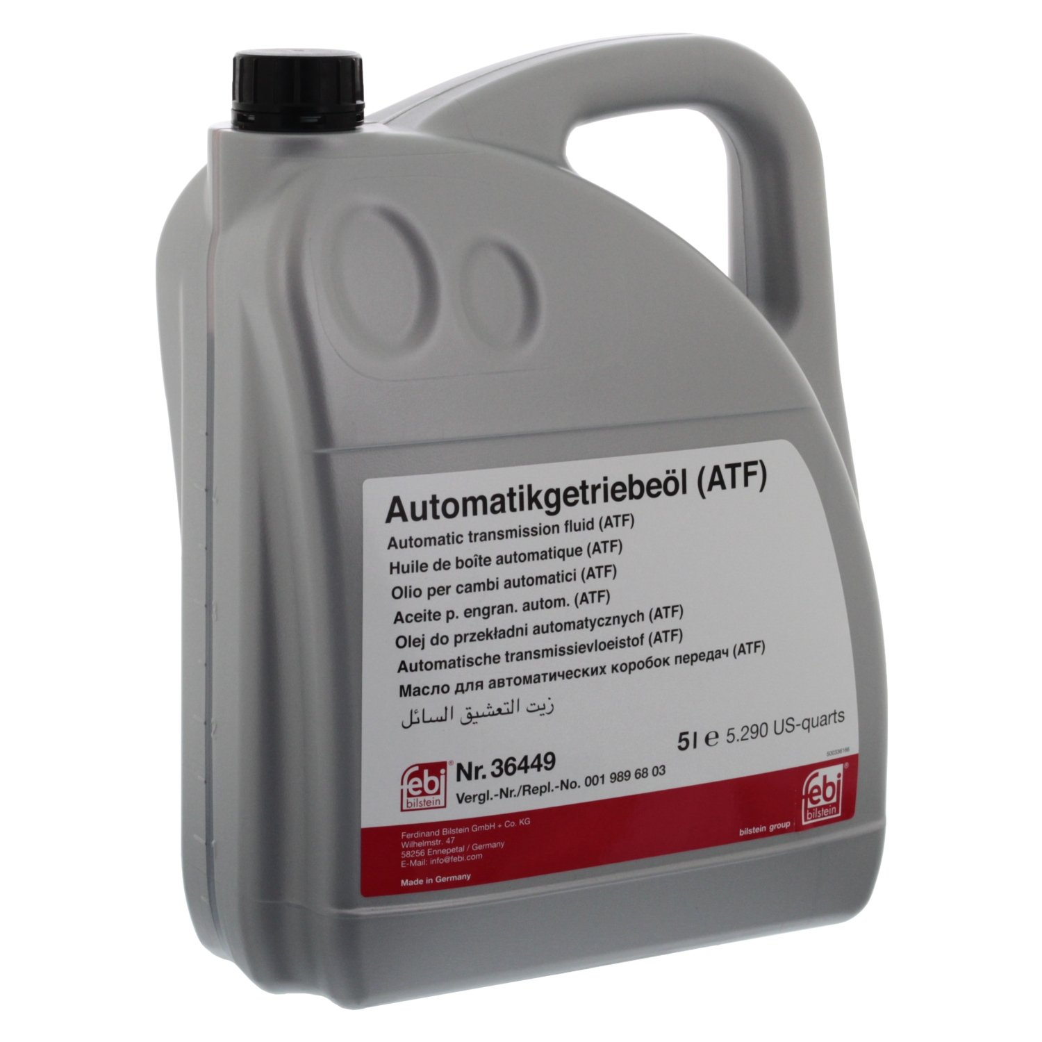 febi bilstein 36449 automatic transmission fluid (ATF) - Pack of 1