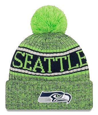 b3b997b16 New Era NFL Seattle Seahawks 2018 Sideline Reverse Sport Knit   Amazon.co.uk  Sports   Outdoors