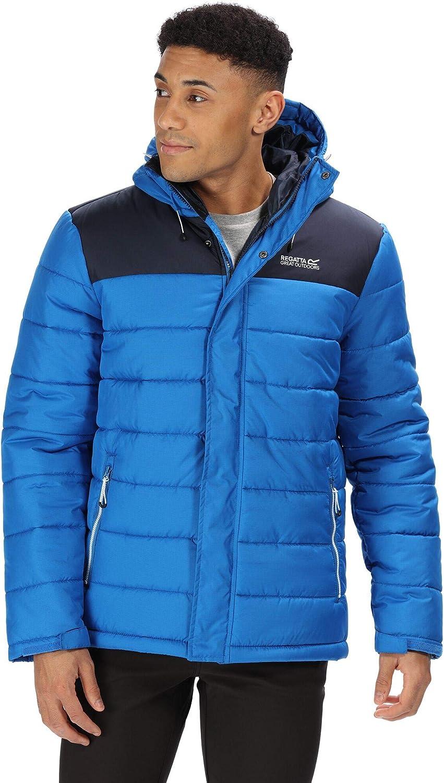 Regatta Nevado III Water Repellent Heavyweight Fill Thermo-Guard Insulated Winter Jacket Chaquetas Acolchadas, Hombre