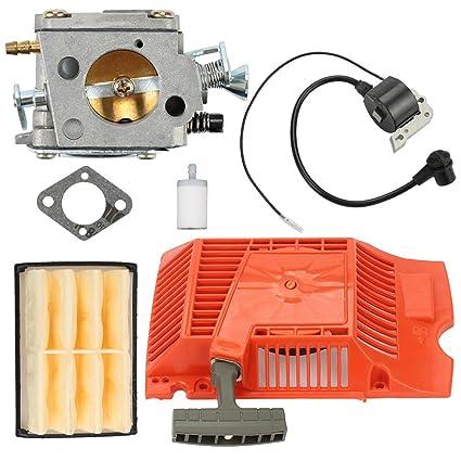 Amazon.com: butom carburador + filtro de aire + Bobina de ...