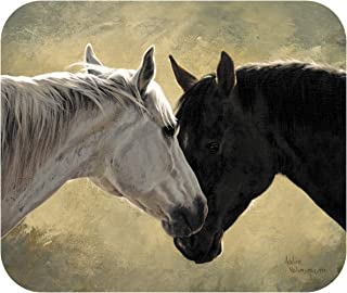 "product image for Horse Mouse Pad | Heart's Desire | 8"" x 9"" Mouse Pad Made in The U.S.A 