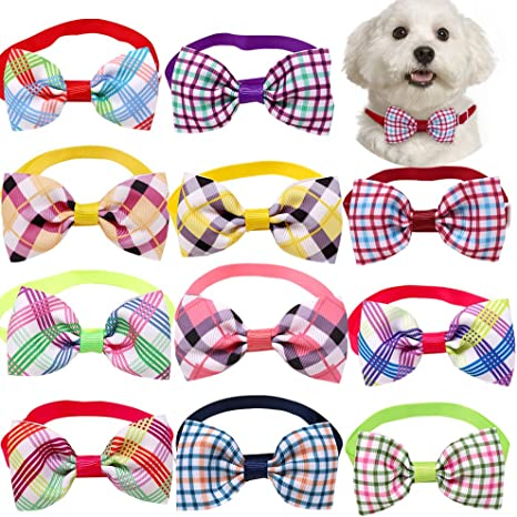 NEW! Bright Floral DogCat Bow Tie OR Collar Flower