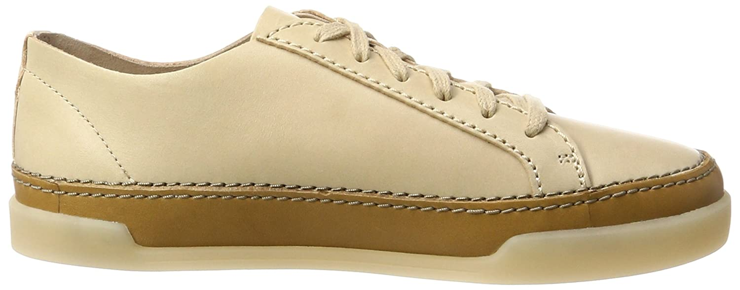 Hidi Holly, Zapatillas Para Mujer, Beige (Nude Leather), 42 EU Clarks