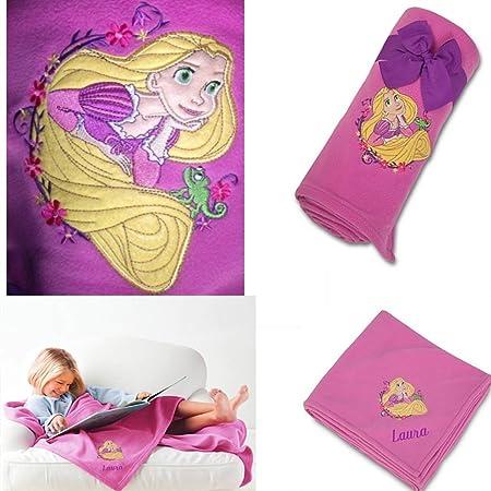 DISNEY TANGLED RAPUNZEL THROW BLANKET FLEECE EMBROIDERED 40 X 40 New Rapunzel Throw Blanket
