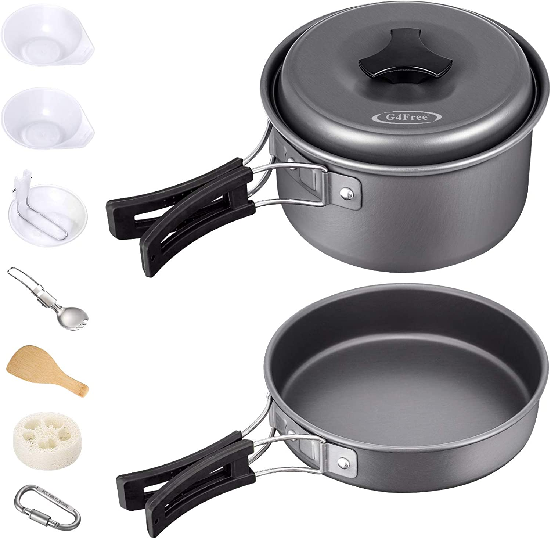 Pot Pan Set Cookware Pots Pans Nonstick Cooking Utensils Kit Cook Cooking Sets