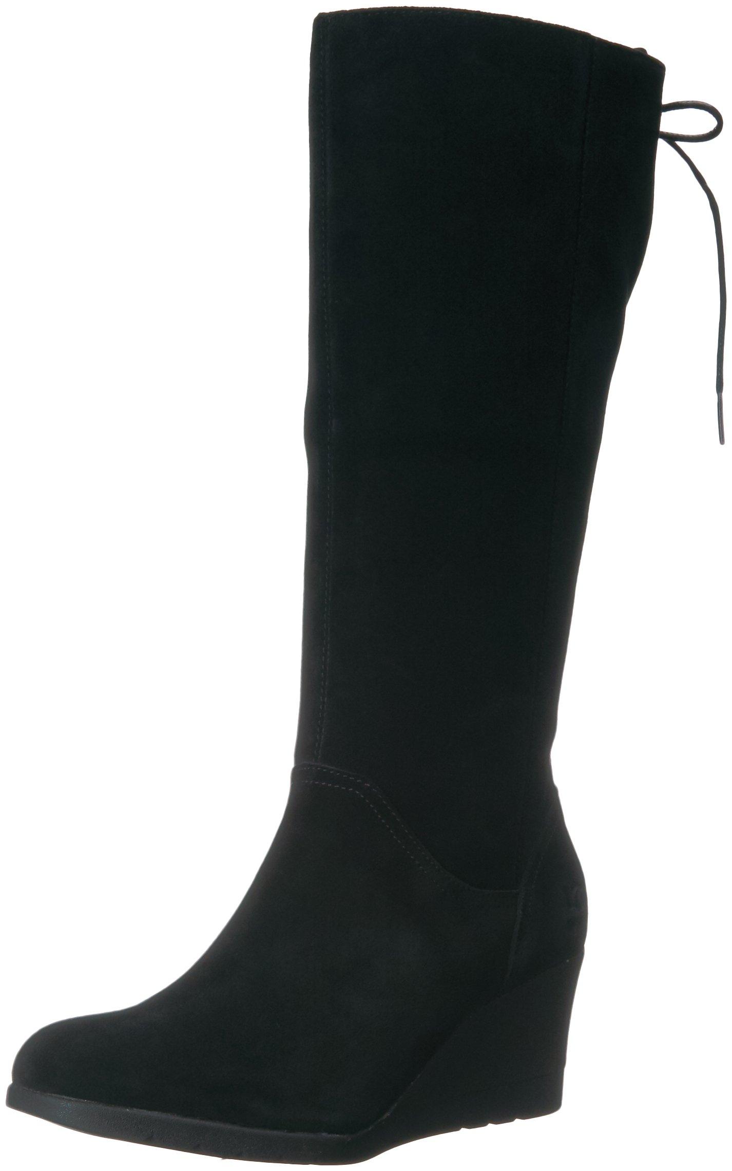 UGG Women's Dawna Winter Boot, Black, 9.5 M US