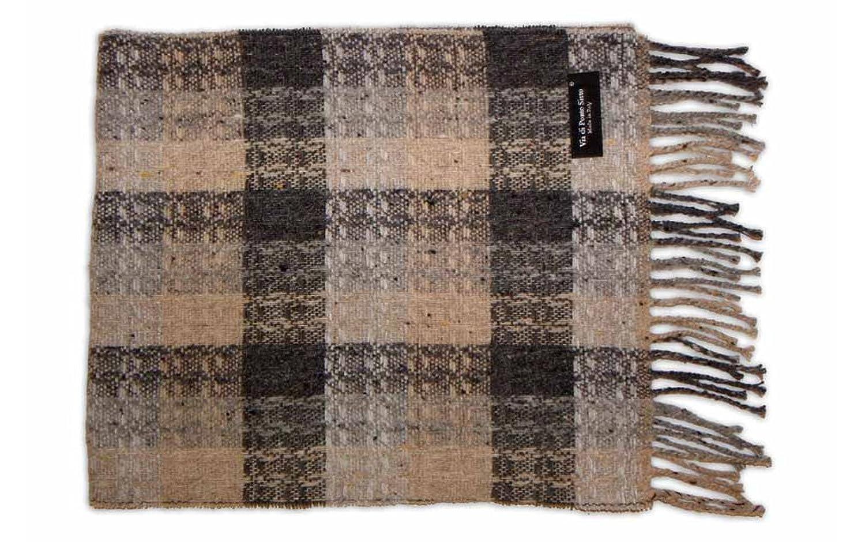 Leather Italia Unisex Lambswool Striped Scarf (ILS110)