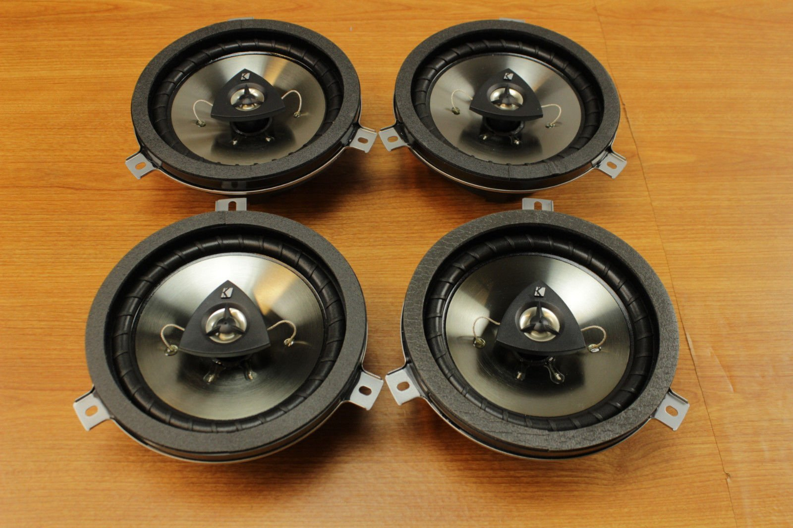Chrysler Jeep Dodge 6.5inch Kicker Speaker Upgrade Set of 4 Mopar OEM by Mopar