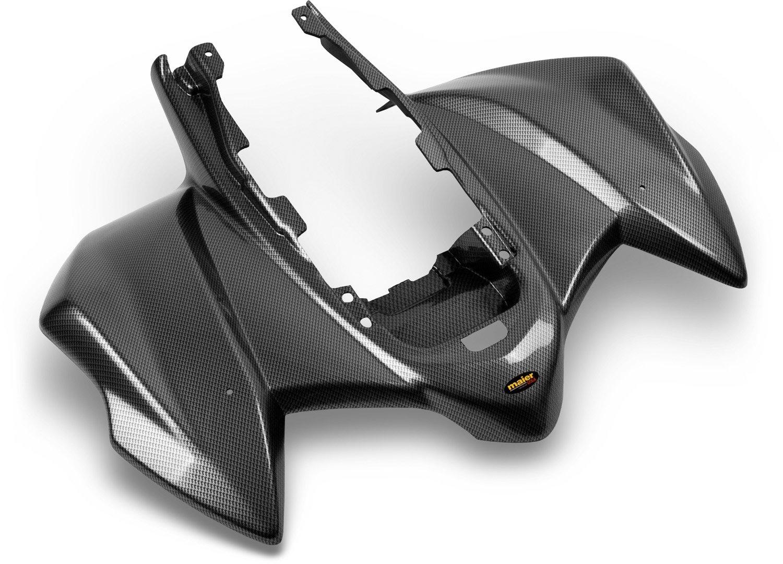 Maier USA One-Piece Rear Fender for Kawasaki KFX450R Black Carbon Fiber 14714-30