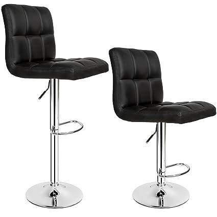 TecTake Sgabelli da bar moderni sgabello design cucina sedia ...
