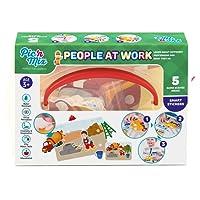 Picnmix Persone al lavoro - Professioni Giochi e Giocatoli Educativi per bambini di 3 anni a 7 anni