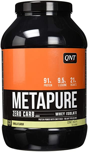 439d7ffdb Image Unavailable. Image not available for. Color  QNT Metapure Zero Carb  ...