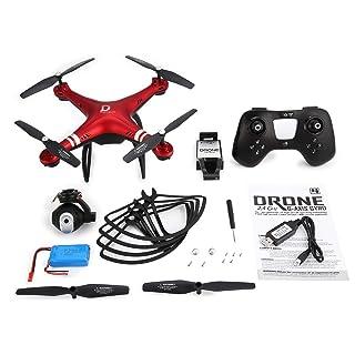 WOSOSYEYO X8 RC Drone 720P Telecamera Regolabile FPV RC Drone 18mins Volo Altitude Hold