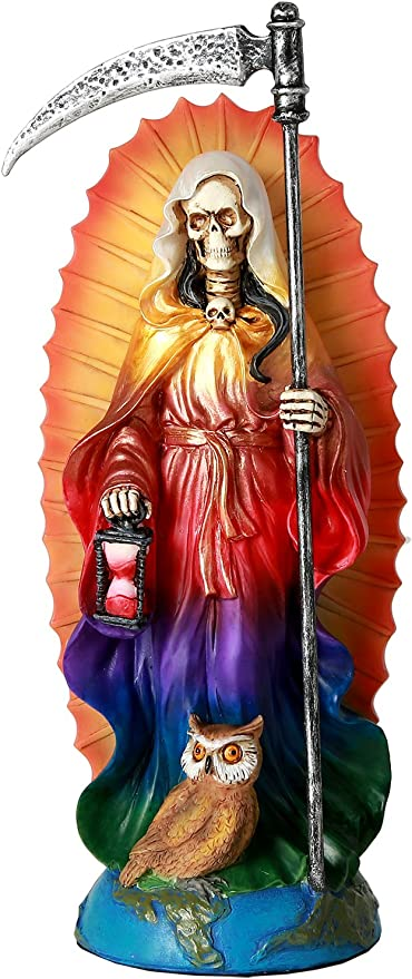 Amazon.com: Pacific Giftware Santa Muerte Saint of Holy Death ...