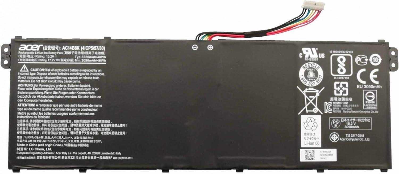 Batería original para Acer Aspire 5 A515-51G, E3-111, E5-475, E5-475G, E5-575, E5-575G, E5-575T, E5-575TG, E5-721, E5-731, E5-731G, E5-771, E5-771G, E5-774, ES1-311, ES1-433, ES1-433G, ES1-511, ES1-51
