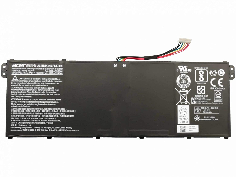 Batería original para Packard Bell EasyNote TF71BM Serie: Amazon.es: Electrónica