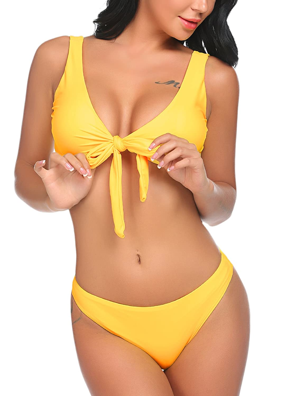 Lucyme Bikini Sets Damen Sexy Bademode Push up Bikinis Badeanzug Zweiteiler Strand Swimwear Swimsuits Beachwear