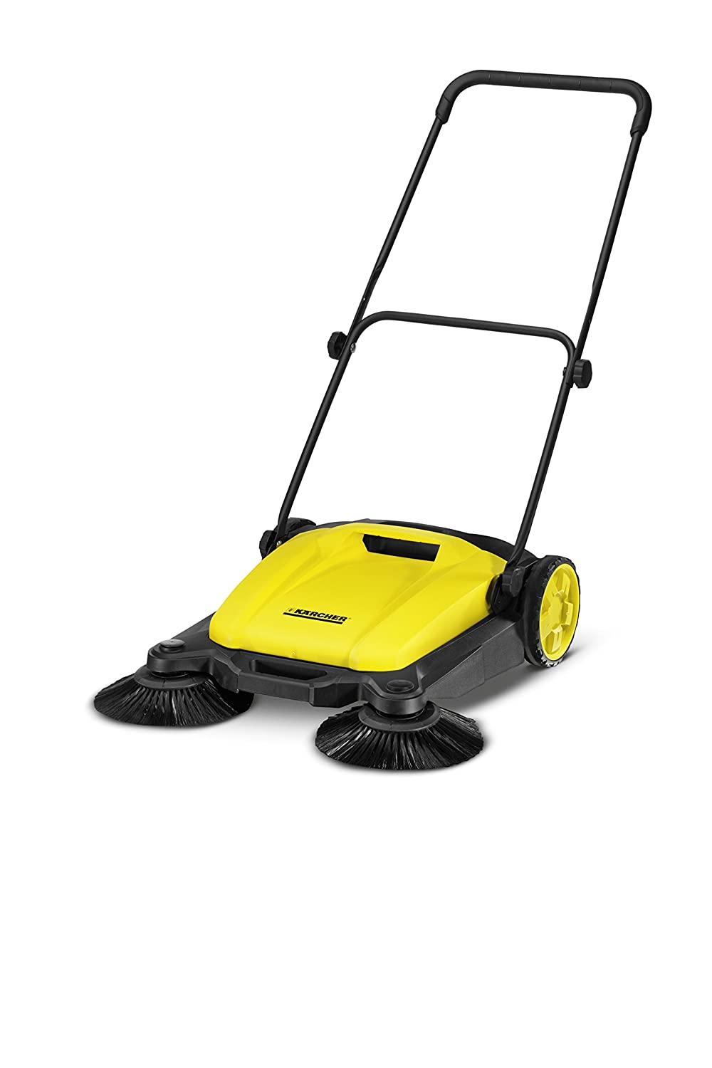 best lawn sweeper - Karcher S650 Outdoor Push Sweeper, Patio & Driveway Cleaner, Yellow/Black