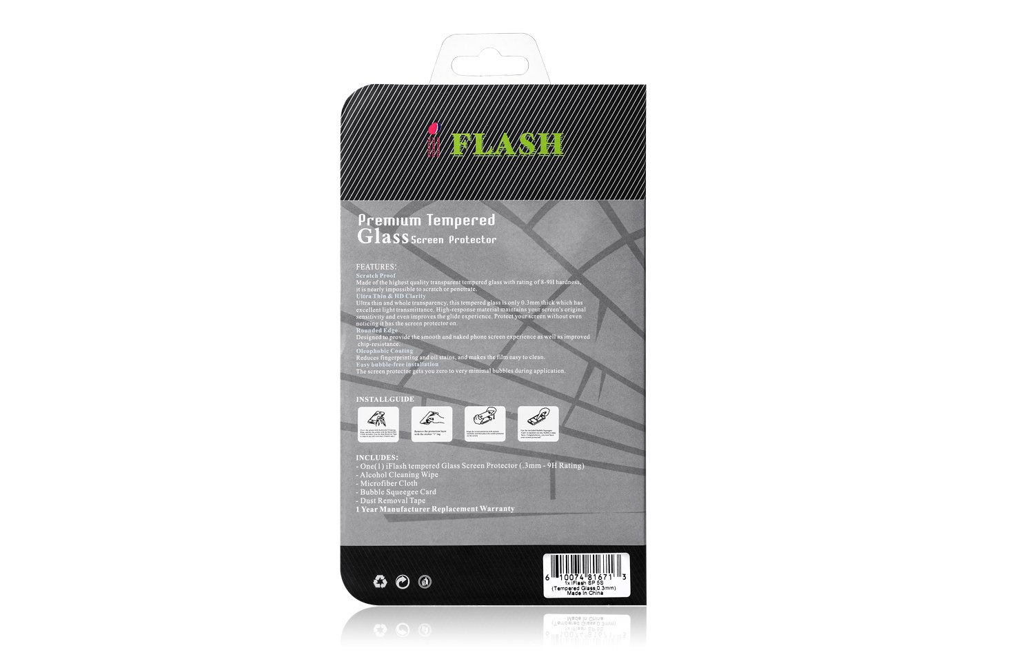 Amazon: Iflash� 2 Pack Of Premium Tempered Glass Screen Protector For  Apple Ipod Touch 4th Generation  Protect Your Screen From Scratches And  Bubble